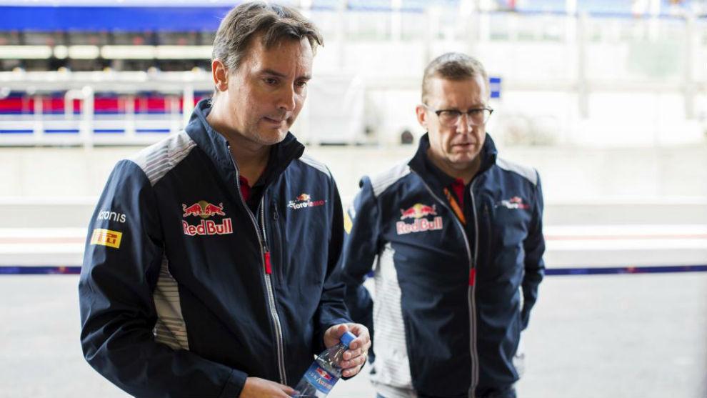 James Key, director técnico de Toro Rosso