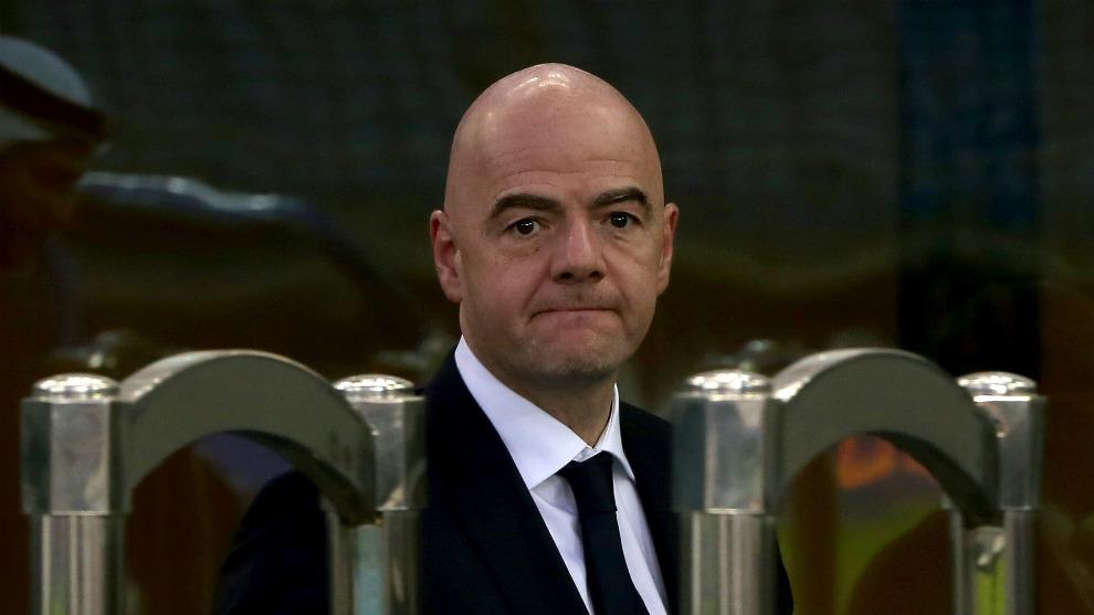 Acusan de corrupción al Presidente de la FIFA Infantino | Marca.com