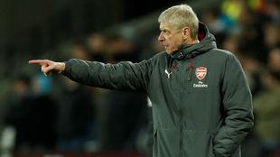 Arsene Wenger durante un encuentro