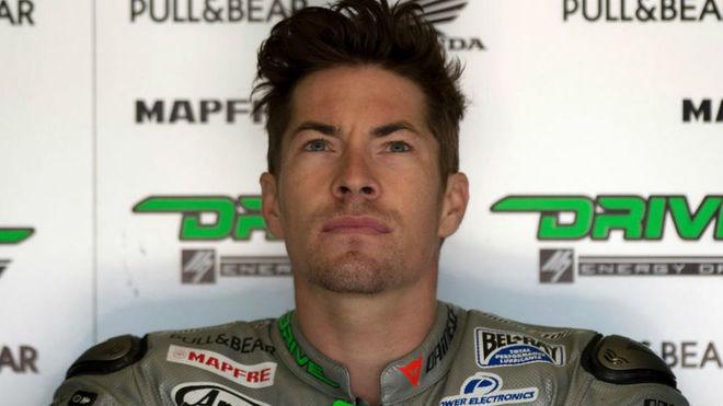 Nicky Hayden, en el circuito de Jerez