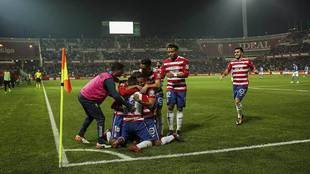 El gol de Pedro en la recta final del choque ante el Almería desató...
