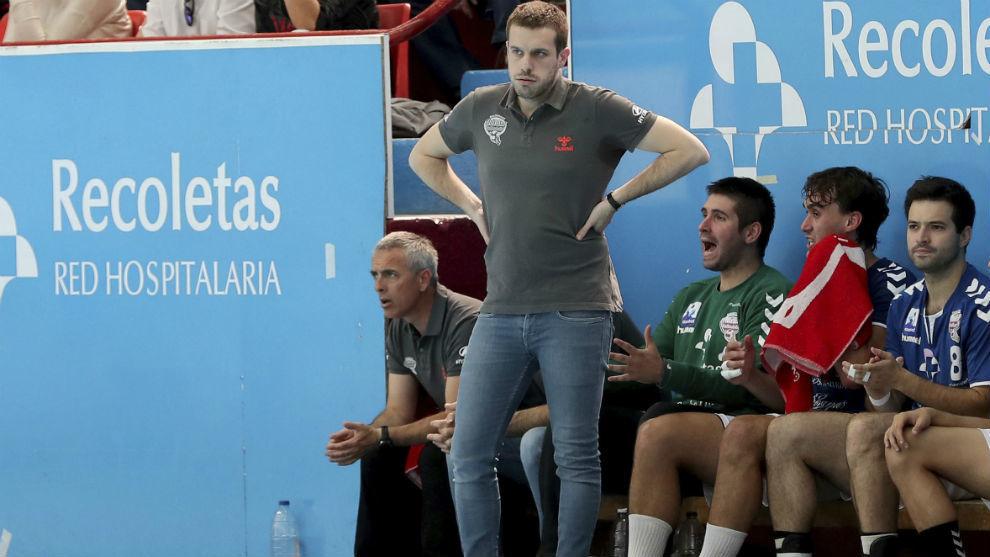 Nacho González, en un partido de la pasada temproda