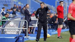 Mendilibar, entrenador del Eibar.