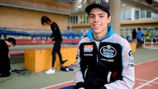 Alonso López, debutante en Moto3 2018