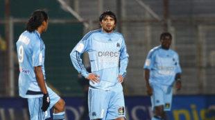 Lucho González, en su etapa como jugador del Olympique de Marsella.