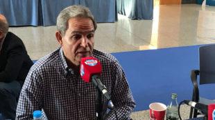 Nicolás Ortega, vicepresidente de la UD Las Palmas, habla en Radio...