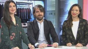 Emilio Colomina, fundador de La Fábrica de Camisas, con Clara Gómez...