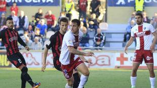 Kilian, durante un partido ante el Reus el pasado curso.