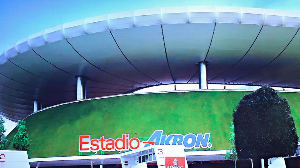 Estadio Akron.