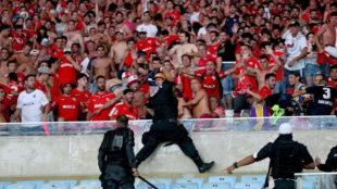 Altercados en la grada en la final de la Copa Sudamericana