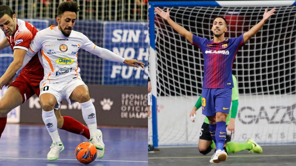 Joselito, con el Aspil Vidal en la 2015/16 y con el Barça Lassa esta...