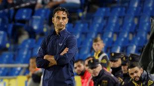 Paquito, entrenador de las la UD Las Palmas.