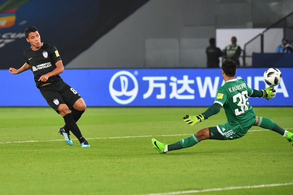 Así marcó De la Rosa el 1-3.