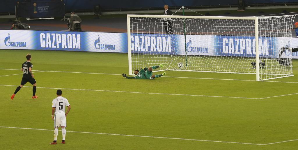 Sagal marcó de penalti el 1-4.
