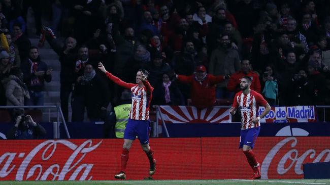 Torres celebra su gol ante el Alavés.