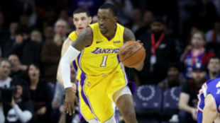 Kentavious Caldwell-Pope jugando con los Lakers