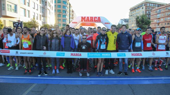Salida de la Sanitas MARCA Running Series 2017.