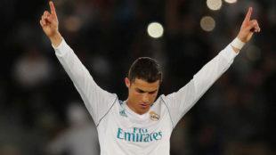 Cristiano Ronaldo, en la final del Mundial de Clubes