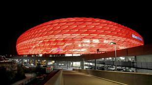 El estadio Allianz Arena de Múnich