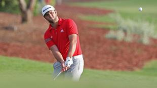 Jon Rahm, durante el torneo de Dubai