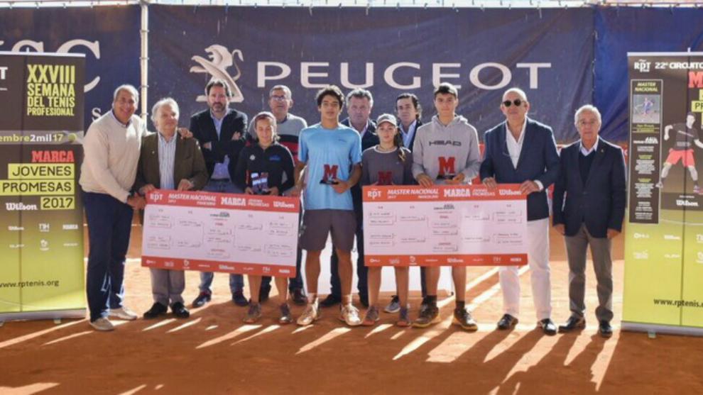 Entrega de premios del Masters del Circuito Marca Promesas 2017