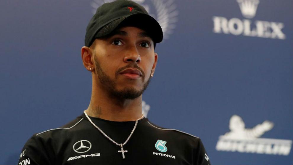 Lewis Hamilton, en la fiesta de fin de año de la FIA en París