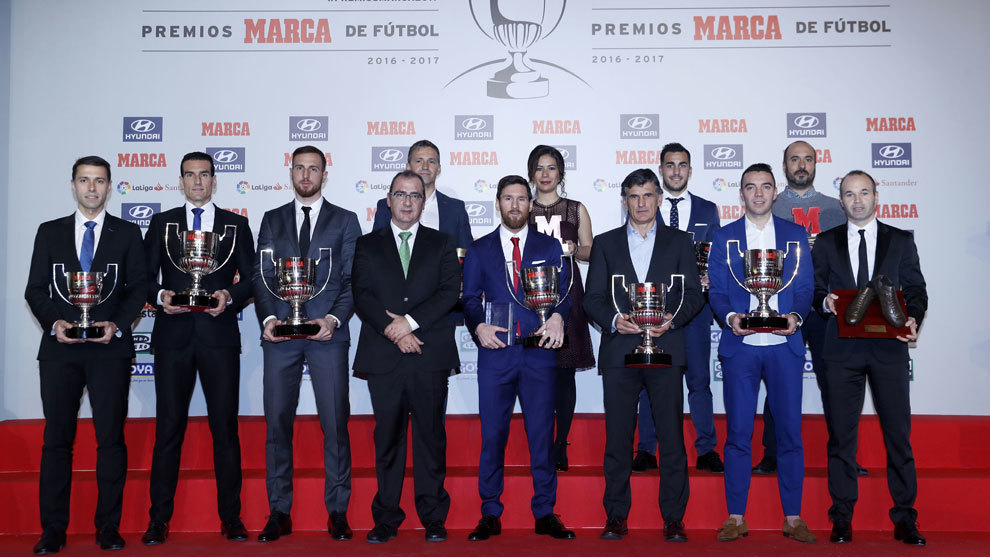 Winners of the MARCA Awards 2016/17