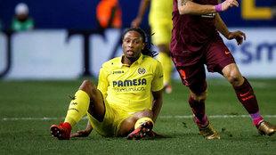 Ruben Semedo en una partido con el Villarreal.