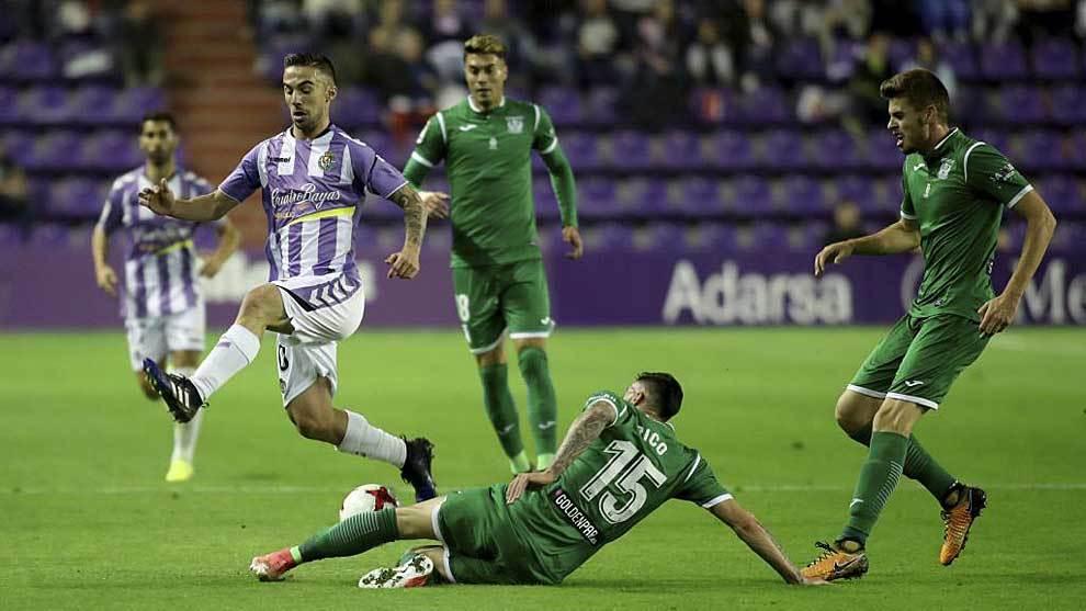 Sergio Marcos, en el partido de Copa ante el Leganés de octubre