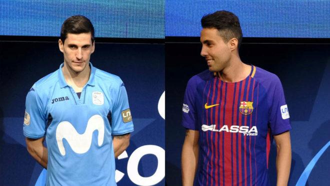 Ortiz y Aicardo, durante el sorteo de la Copa de España.