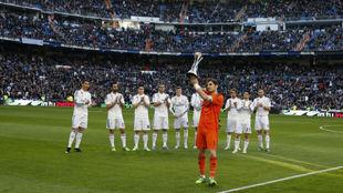 Casillas ofrece el Mundial de Clubes al Bernabéu en 2015