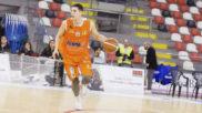 Ángel Hernández, en un partido del Leyma Coruña.