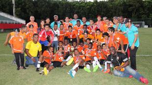 El Cibao celebra el título de la Liga Dominicana de Fútbol