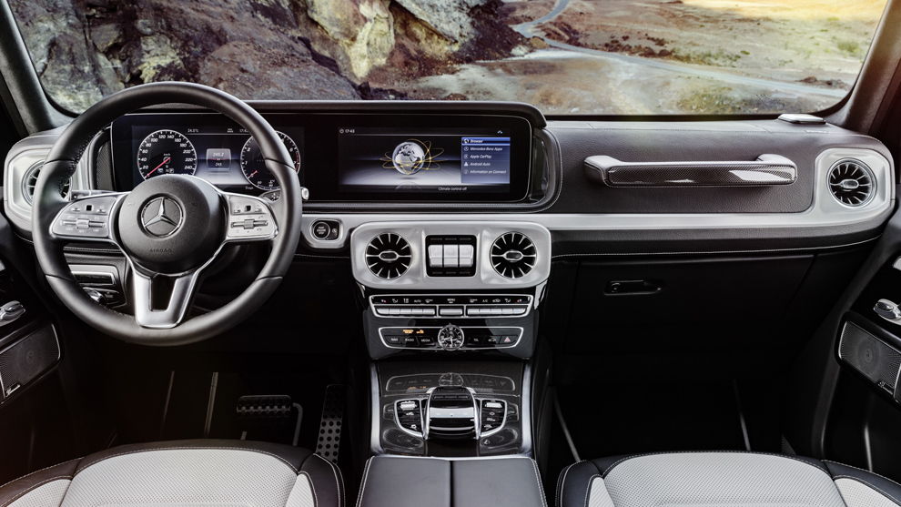 Asi Es El Interior Del Futuro Mercedes Benz Clase G Icono Por Fuera
