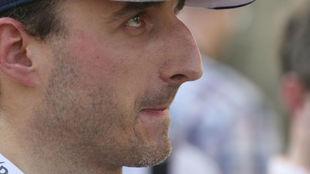 Robert Kubica, en los test de Abu Dabi con Williams