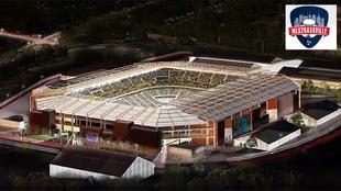 Proyecto de estadio en Nashville para el nuevo equipo de la MLS.