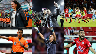 Ganadores de los Premios Concacaf 2017