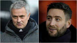 José Mourinho y Lee Johnson.