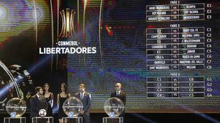 Sorteo de la Copa Libertadores 2018