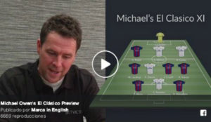 Cruyff and Zidane but no Messi: Michael Owen reveals his all-time Clasico XI