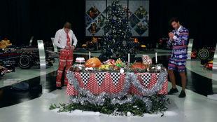 Verstappen y Ricciardo, felicitando la Navidad