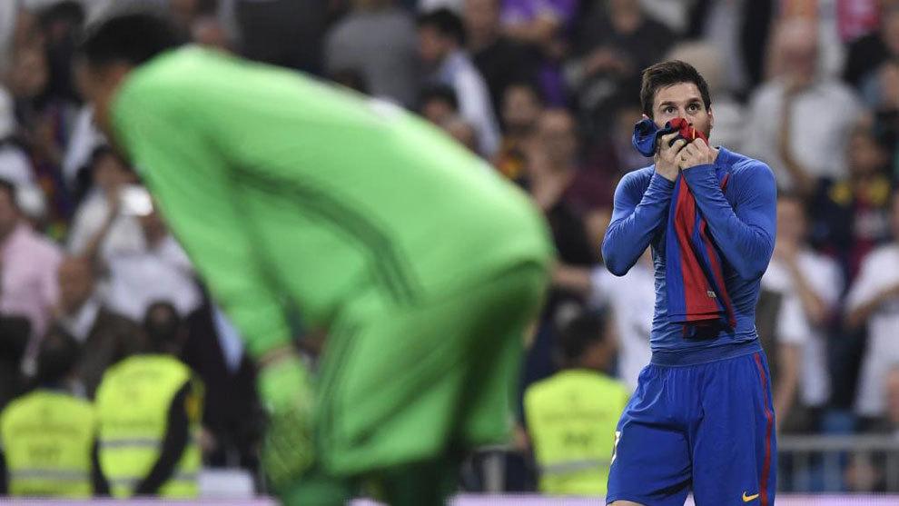Llega Messi, la pesadilla del Santiago Bernabéu