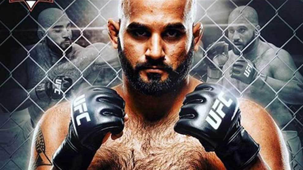 El invicto Arjan Bhullar, el primer luchador de origen indio en ganar...