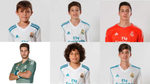 Guerrero y otros hijos de futbolistas que juegan en la cantera del Real Madrid