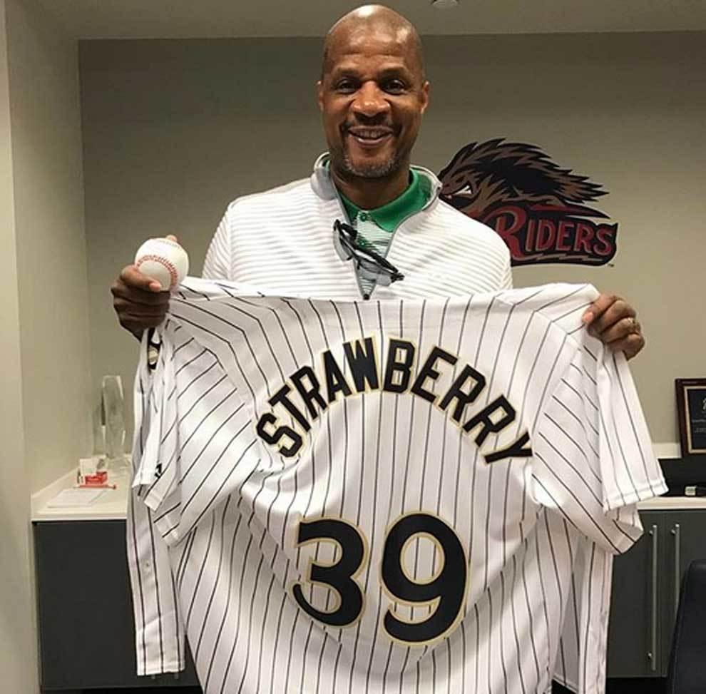 Darryl Strawberry, leyenda de las Grandes Ligas de béisbol