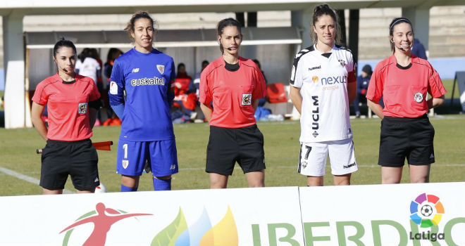 Elena Peláez (principal), Adriana García (asistente 1) y Estefanía...