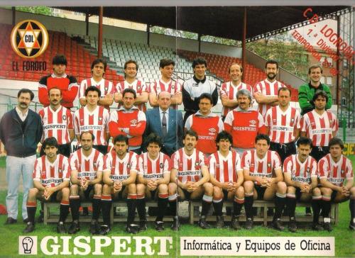 El Logroñés de 1990  Cuando Las Gaunas soñó con la UEFA  46ba763d8c9cf