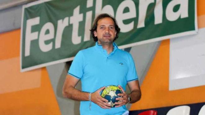 El nuevo técnico del Puerto Sagunto, Sergio Berrios