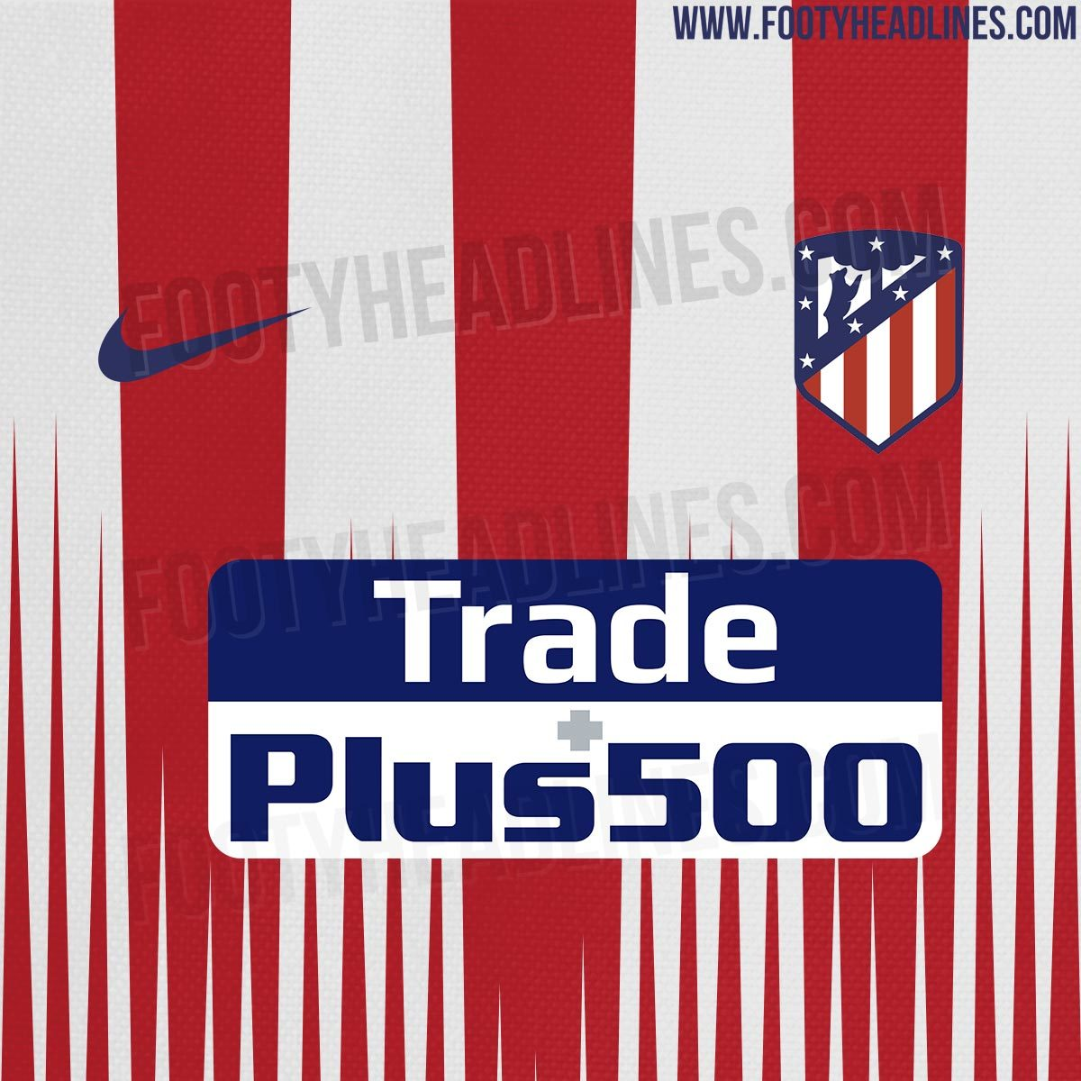 d2b23dfa1 Atletico Madrid  Potential design for Atletico Madrid s 2018 19 home ...