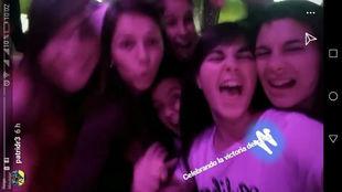 Captura de la cuenta de Instagram de Patricia González.